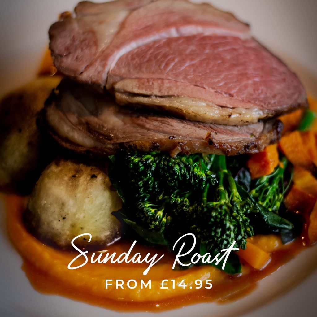 Sunday Roast from £14.95