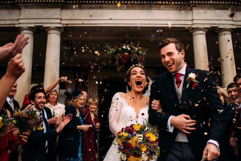 Eaves Hall Wedding Celebration
