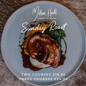 Sunday Lunch Mitton Hall