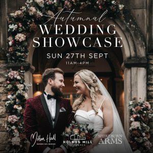 Autumnal Wedding Showcase 27th September